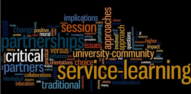 an analysis of service learning Include analysis components from the fields of nonprofit management education,  community impact of graduate students' service-learning projects one study.